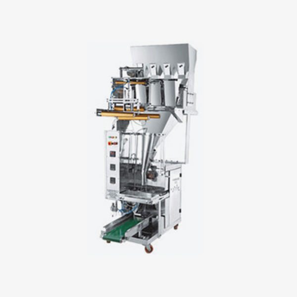 Fully-Pneumatic-Four-Head-Pouch-Packaging-Machines