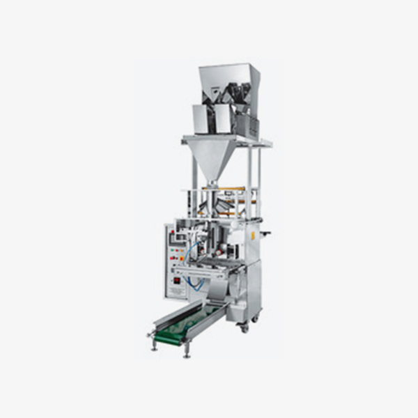 Pneumatic-Double-Head-Pouch-Packing-Machine
